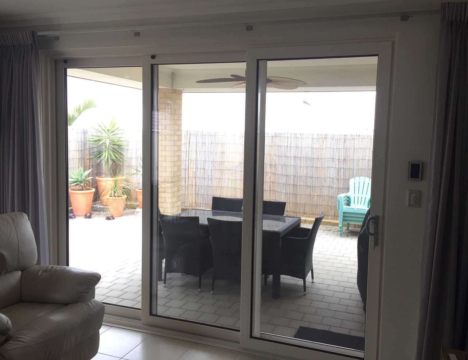Double Glazed Sliding Stacker Doors