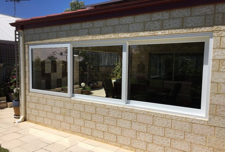 Aluminium Double Glazed Sliding Windows